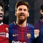 Lionel Messi menyusul Mo Salah dalam perebutan Sepatu Emas