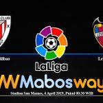 Prediksi Bola Athletic Bilbao Vs Levante 4 April 2019