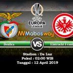 Prediksi Bola Benfica vs Frankfurt 12 April 2019