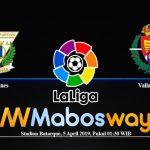Prediksi Bola Leganes Vs Valladolid 05 April 2019