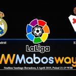 Prediksi Bola Real Madrid Vs Eibar 06 April 2019